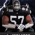 oakland raiders sports fan violator
